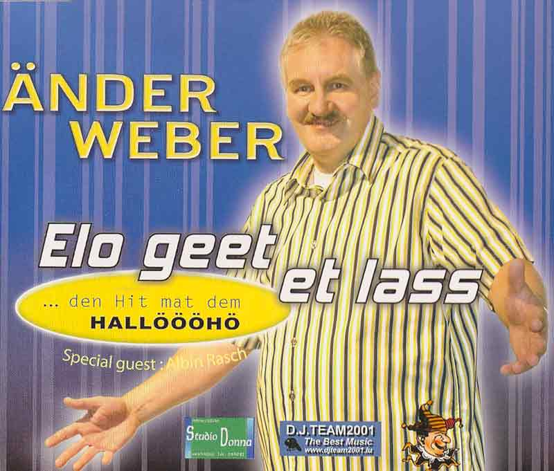 Weber Aender - Elo geet et lass (Front Cover) | Click to enlarge