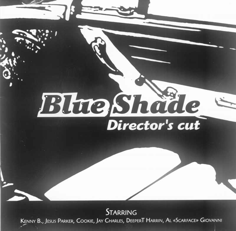 Blue Shade - Director's cut (Front Cover) | Click to enlarge