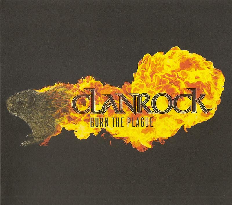 Clanrock - Burn the Plague (Front Cover) | Click to enlarge