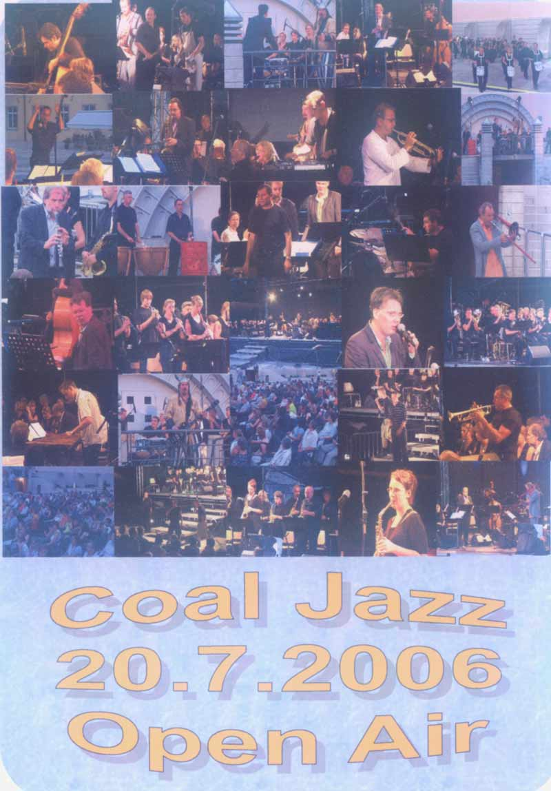 Coal Jazz - DVD Open Air 20.07.06 (Front Cover) | Click to enlarge