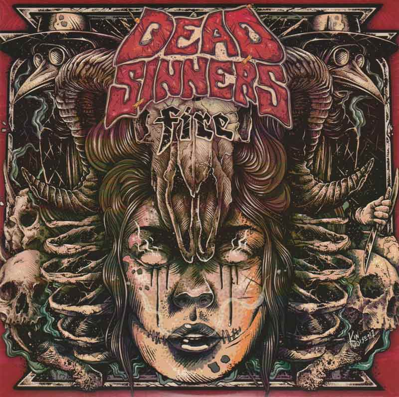 Dead Sinners - Fire (Front Cover) | Click to enlarge