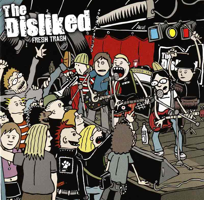Disliked - Fresh Trash (Front Cover) | Click to enlarge