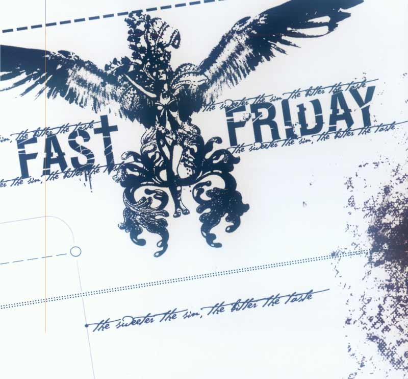 Fast Friday - The Sweeter the Sin, the Bitter the Taste (Front Cover) | Click to enlarge