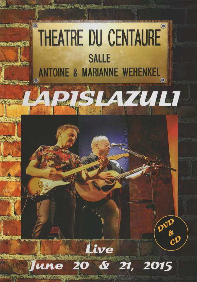Lapislazuli - Live 2015 (Front Cover) | Click to enlarge