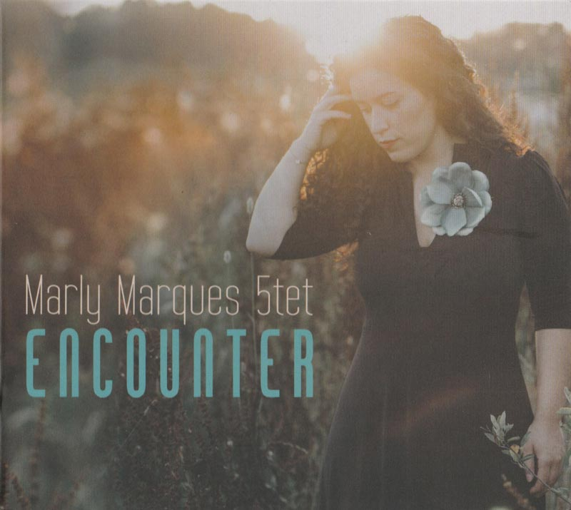 Marly Marques 5tet - Encounter (Front Cover) | Click to enlarge