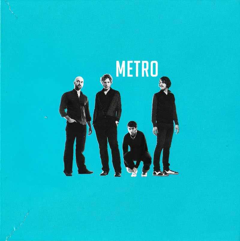 Metro - We Are Never Sexy (Front Cover) | Click to enlarge
