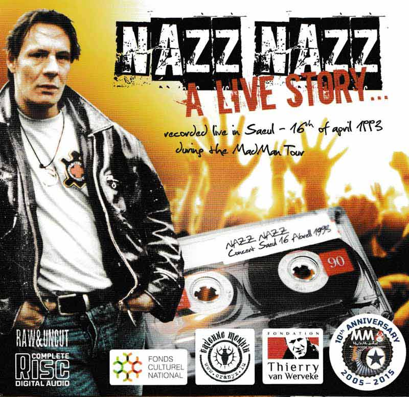 Nazz Nazz - Live in Saeul 1993 (Front Cover) | Click to enlarge