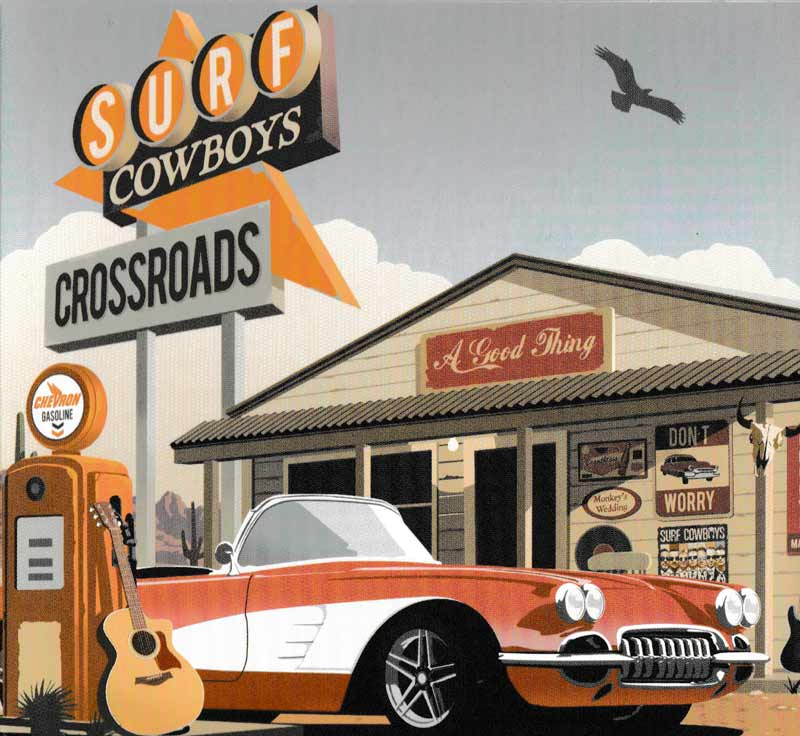 Surf Cowboys - Crossroads (Front Cover) | Click to enlarge