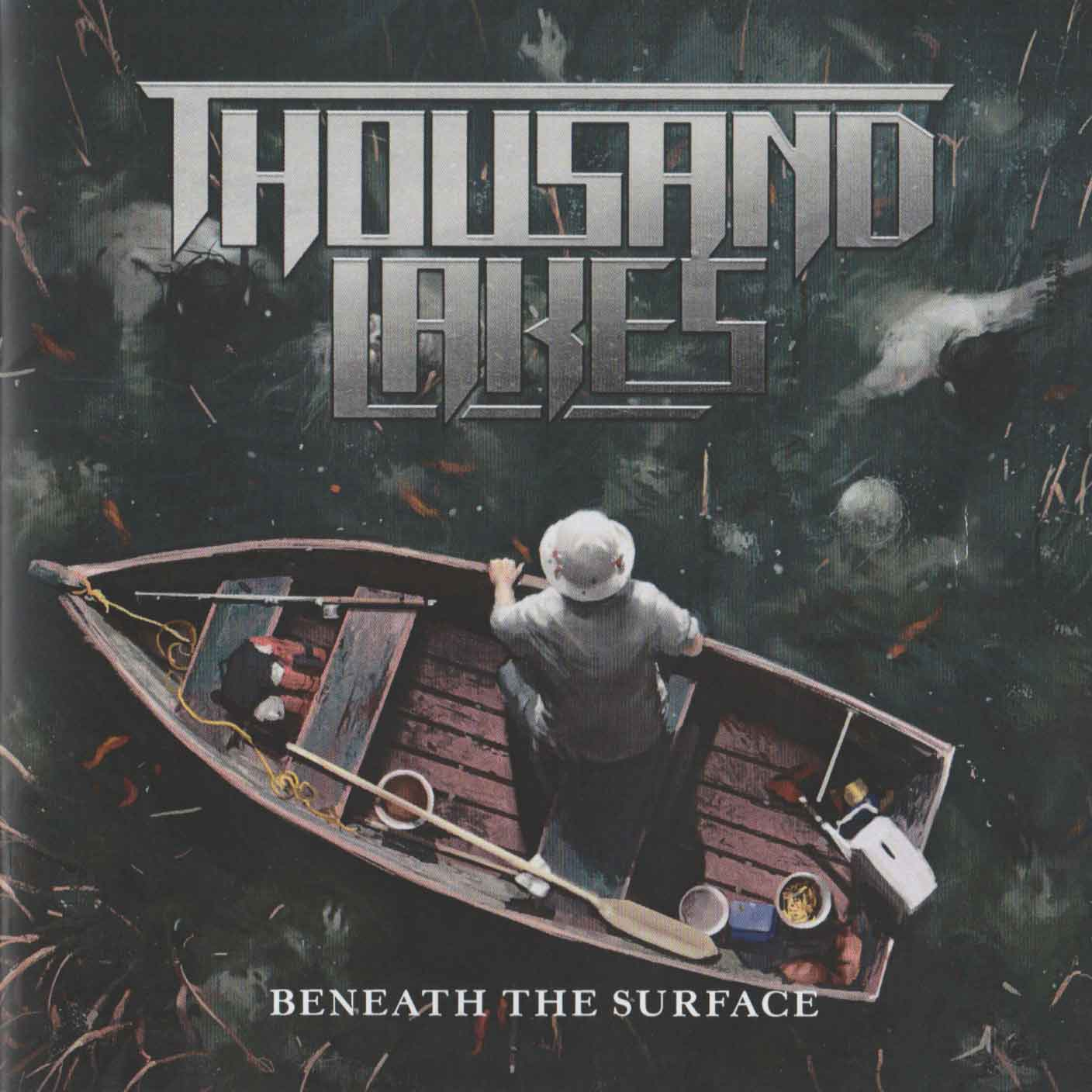 Thousand Lakes - Beneath the Surface (Front Cover) | Click to enlarge