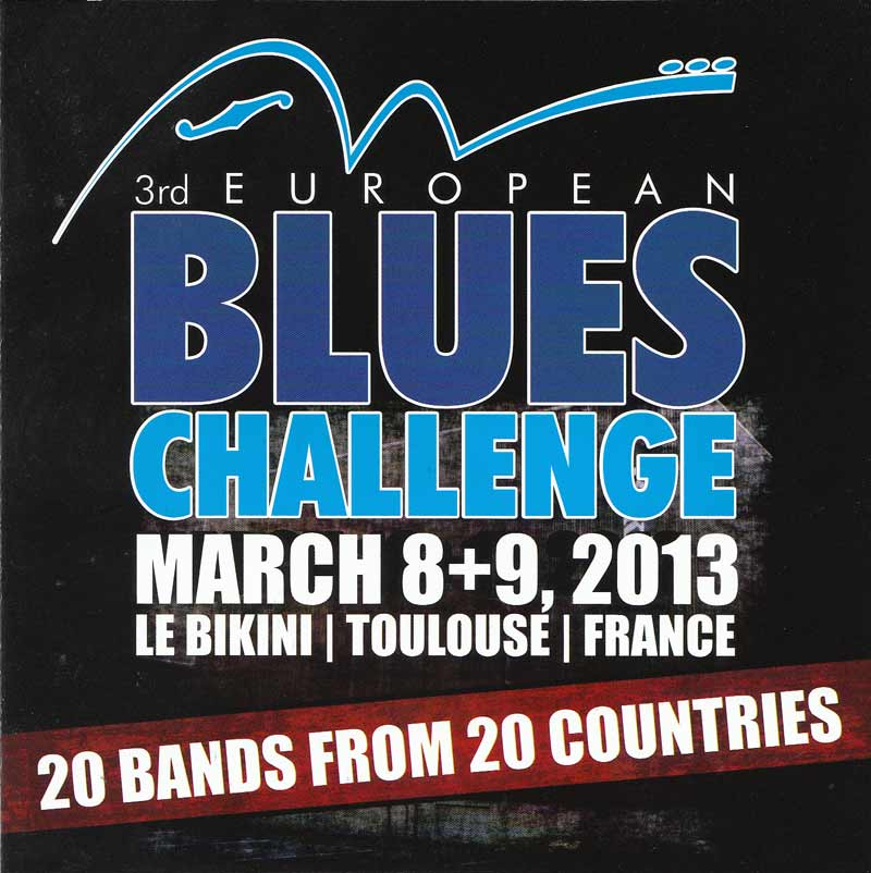 European Blues Challenge 2013 - European Blues Challenge 2013 (Front Cover) | Click to enlarge
