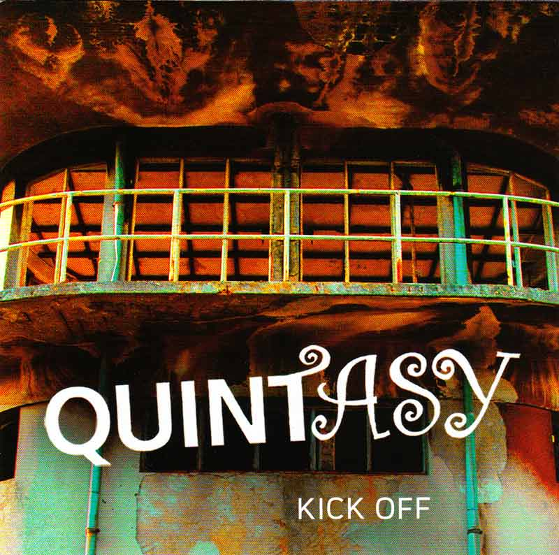 Quintasy - Kick Off (Front Cover) | Click to enlarge