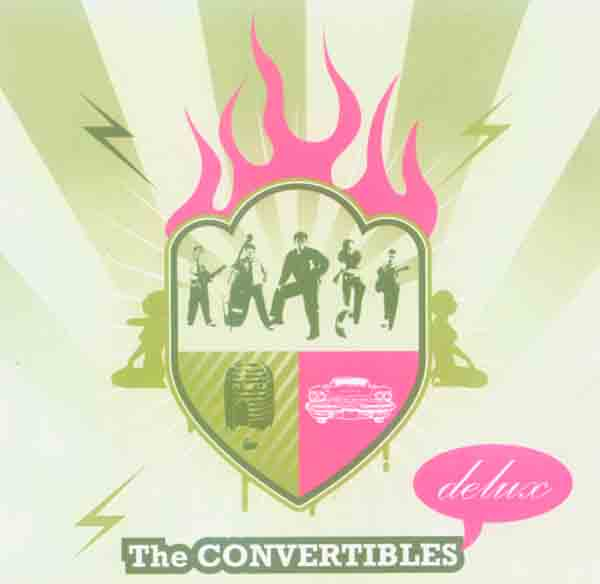 Convertibles - Rock 'n Roll Delux (Front Cover) | Click to enlarge