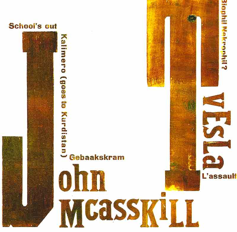 Tvesla / John Mcasskill - T J   LP (Front Cover) | Click to enlarge