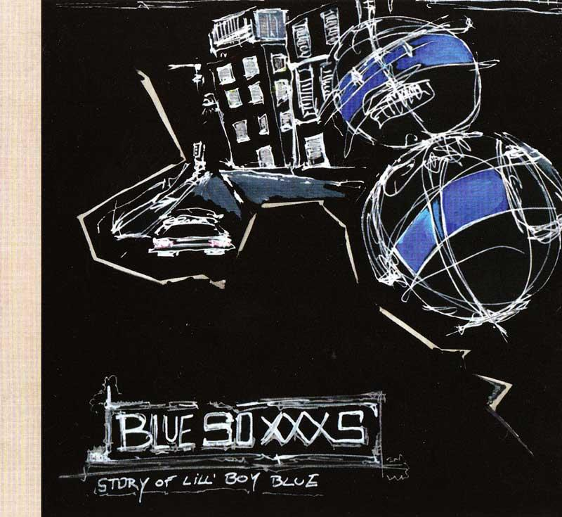 Blue Soxxxs - Story of Lill' Boy Blue (Front Cover)