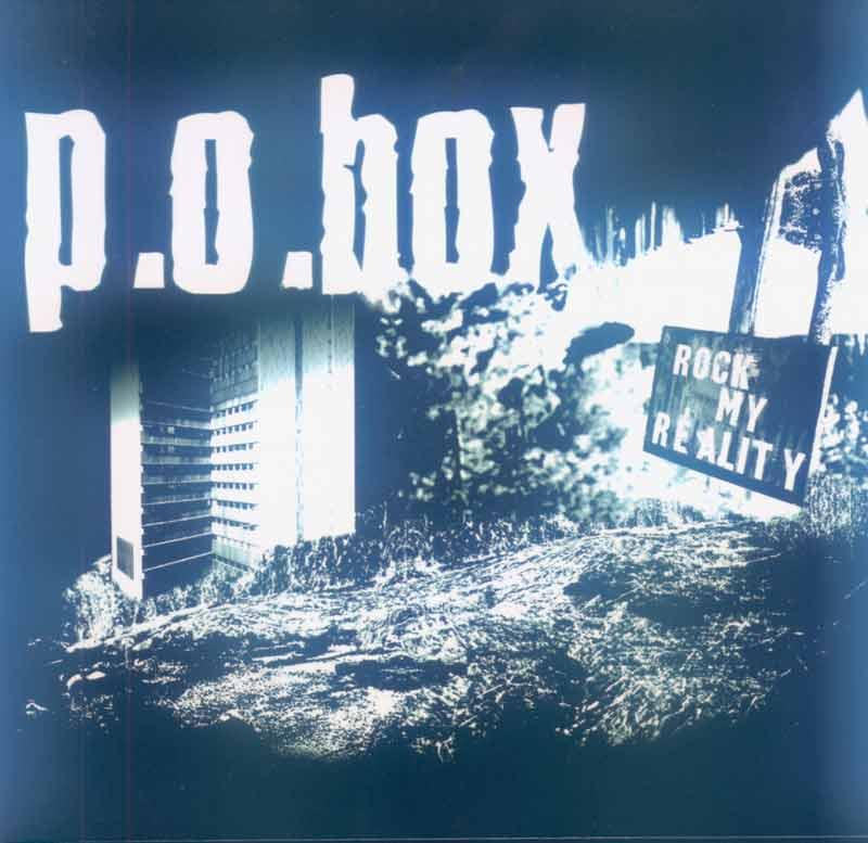 p.o.box - Rock my Reality (Front Cover)