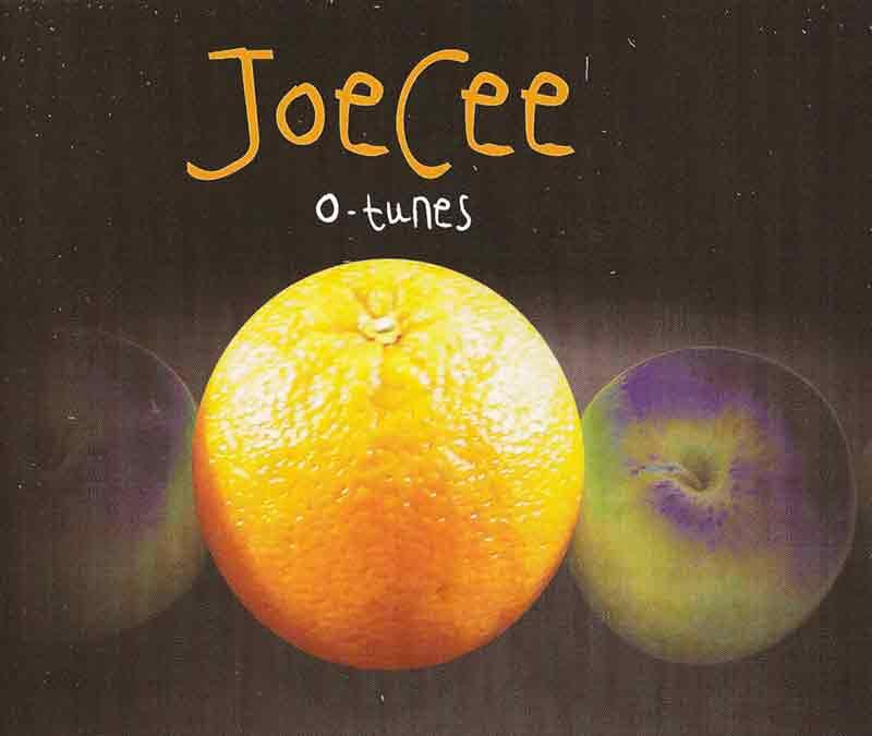 JoeCee - O-tunes (Front Cover)